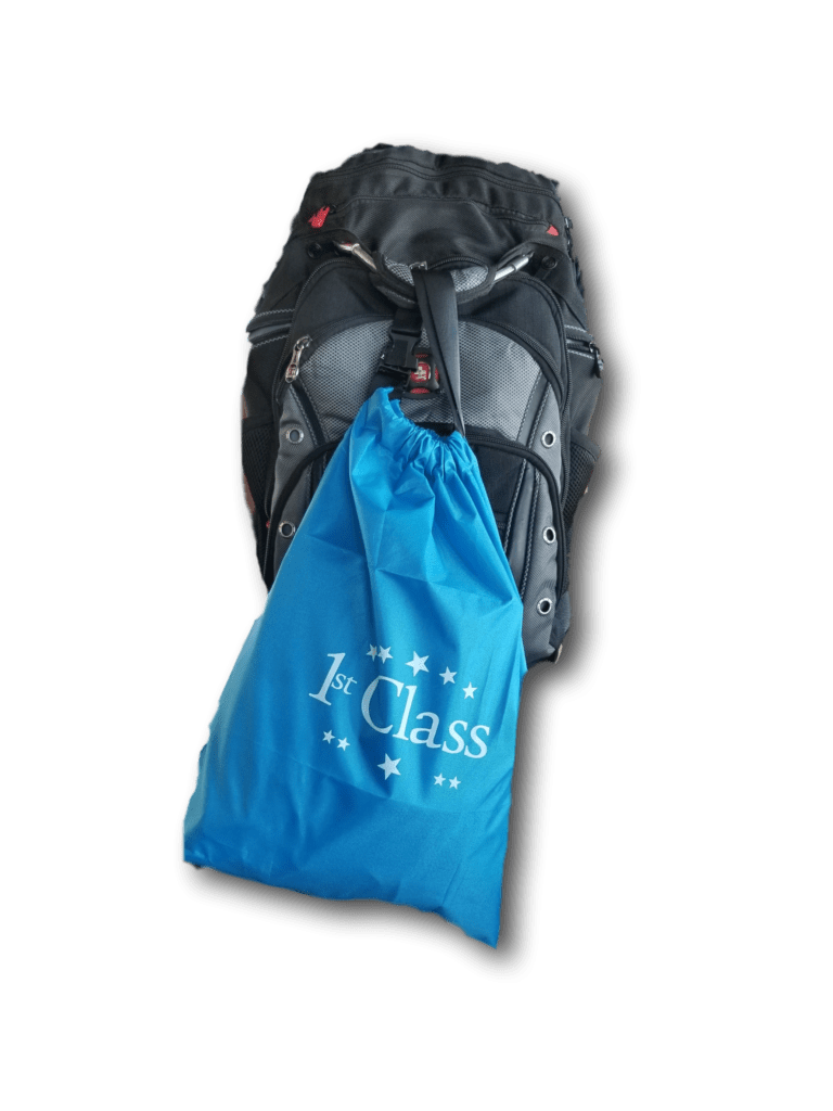 Clip Bag can attach to other Carry on items or strollers.